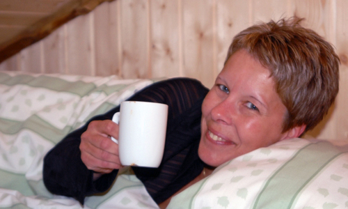 overnatting med frokost i hytte nær Steinkjer